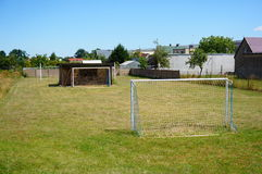 Small soccer field Royalty Free Stock Photos