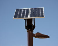 Small Solar Lamp Royalty Free Stock Photos