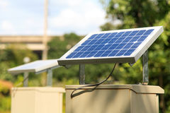 Small solar panel Royalty Free Stock Image