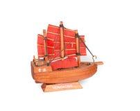 Small Souvenir Ship - Hong Kong Stock Image