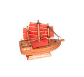 Small Souvenir Ship - Hong Kong Royalty Free Stock Photos