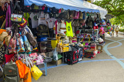 Small souvenir shop on the Thai Stock Photo
