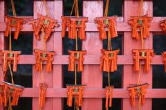 Small souvenir torii-gates Royalty Free Stock Photos