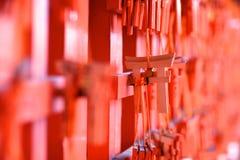 Small souvenir torii-gates Stock Images
