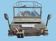 Small Soviet four-wheel drive amphibious vehicle Stock Images