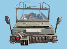 Small Soviet four-wheel drive amphibious vehicle Stock Images