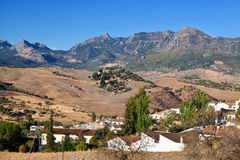 Small Spanish village Stock Image