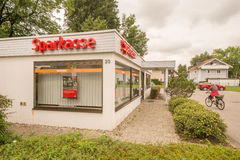 Small Sparkasse Stock Photos