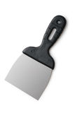 Small spatula paint on a white background Stock Photography