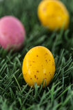 Small speckled easter eggs Royalty Free Stock Images
