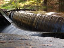 Small spillweir Stock Images