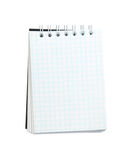 Small spiral notebook Royalty Free Stock Photos