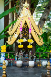 Small spirit hous in Thailand Stock Image