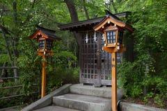 Small spirit shrine Stock Photos