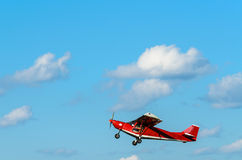 Small sport plane Royalty Free Stock Image