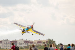 A small sport plane Stock Photography