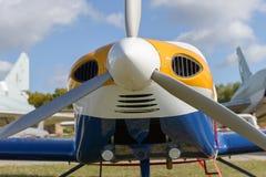 Small sports plane Stock Photo