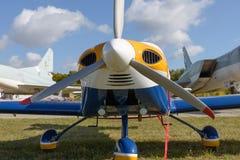 Small sports plane Royalty Free Stock Photo