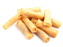 Small spring roll Stock Photo