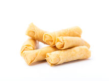 Small spring roll  Royalty Free Stock Image