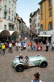 Small Spyder at Mille Miglia 2015 Royalty Free Stock Image