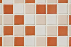 Small square bath tile Royalty Free Stock Image