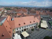Small Square (Piata Mica), Sibiu Stock Photos