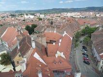 Small Square (Piata Mica), Sibiu Royalty Free Stock Image