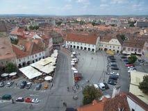 Small Square (Piata Mica), Sibiu Stock Photography