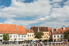 The Small Square Of Sibiu Stock Images