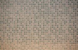 Small squares. Wall of small squares Stock Photo