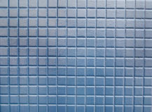 Small Squares of Blue Tile Stock Photography