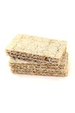 Small stack of crispbread Royalty Free Stock Image