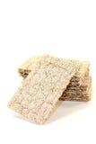 Small stack of crispy crispbread Stock Image