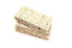 Small stack of fresh crispbread Royalty Free Stock Photo