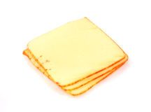Small stack muenster cheese royalty free stock image