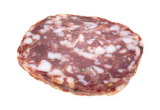 Small stack of sopressata Stock Images