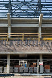 Small stadium under construction royalty free stock photos