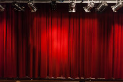 Small stage Royalty Free Stock Images