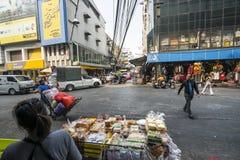 Small stall in Bangkok Stock Photography