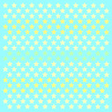 Small stars patern polkastars. Seamless stars pattern of small colored polka stars gradient, on a blue background for arts, crafts, fabrics, decorating, albums vector illustration