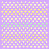 Small stars patern polkastars. Seamless stars pattern of small colored polka stars gradient, on a soft purple background for arts, crafts, fabrics, decorating vector illustration