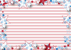 Small Stars and Stripes Stock Photography
