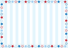 Small Stars and Stripes Royalty Free Stock Photography