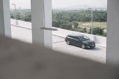Small station wagon. Peugeot 308 is small wagon which can be quite roomy and practical royalty free stock photography