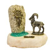 Small statuette Royalty Free Stock Photography