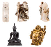 Small statuettes Stock Photography