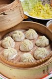 Small steamed buns Royalty Free Stock Image