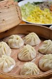 Small steamed buns Stock Images