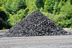 Stockpile of Coal Stock Images